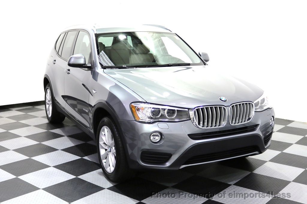 2015 BMW X3 CERTIFIED X3 xDRIVE28i AWD XENONS CAMERA NAVI - 17696949 - 1