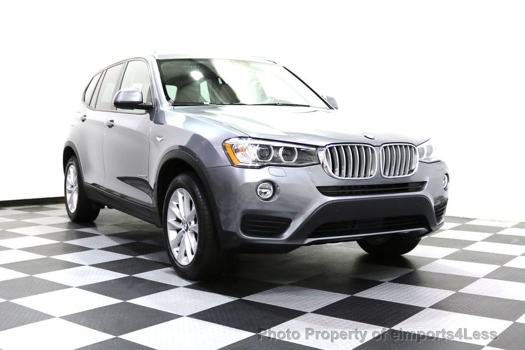 2015 BMW X3 CERTIFIED X3 xDRIVE28i AWD XENONS CAMERA NAVI - 17696949 - 30