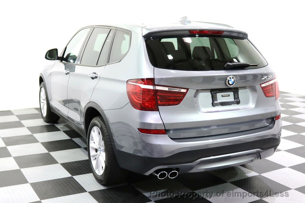 2015 BMW X3 CERTIFIED X3 xDRIVE28i AWD XENONS CAMERA NAVI - 17696949 - 31