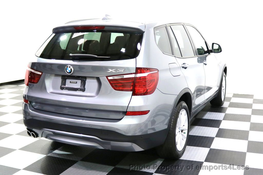 2015 BMW X3 CERTIFIED X3 xDRIVE28i AWD XENONS CAMERA NAVI - 17696949 - 33