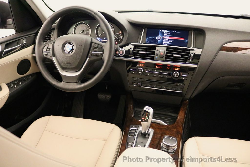 2015 BMW X3 CERTIFIED X3 xDRIVE28i AWD XENONS CAMERA NAVI - 17696949 - 35
