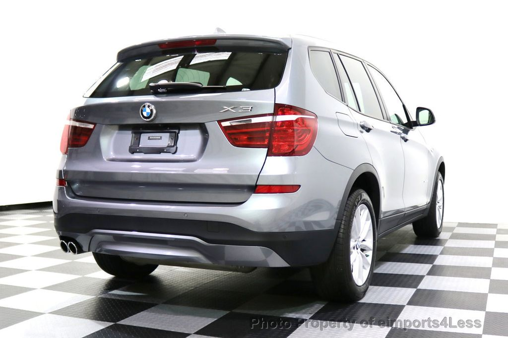 2015 BMW X3 CERTIFIED X3 xDRIVE28i AWD XENONS CAMERA NAVI - 17696949 - 3
