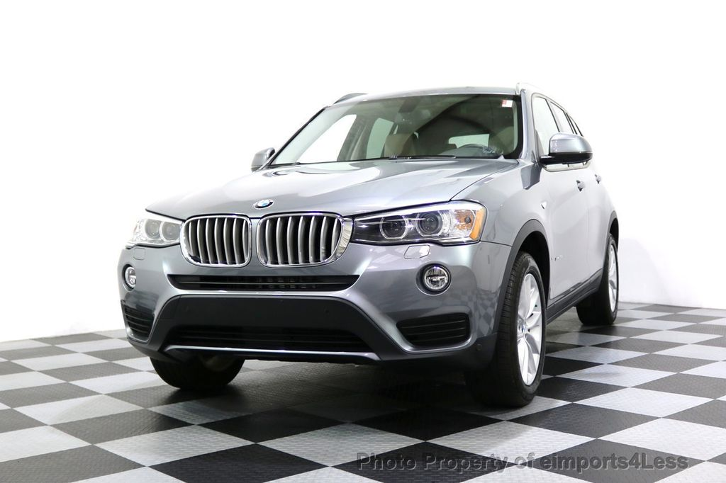 2015 BMW X3 CERTIFIED X3 xDRIVE28i AWD XENONS CAMERA NAVI - 17696949 - 44