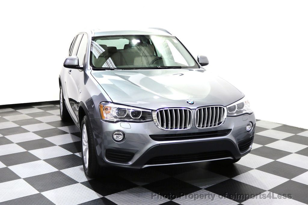 2015 BMW X3 CERTIFIED X3 xDRIVE28i AWD XENONS CAMERA NAVI - 17696949 - 45