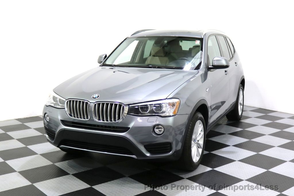 2015 BMW X3 CERTIFIED X3 xDRIVE28i AWD XENONS CAMERA NAVI - 17696949 - 46