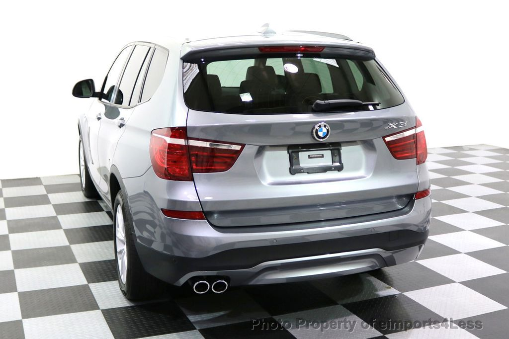 2015 BMW X3 CERTIFIED X3 xDRIVE28i AWD XENONS CAMERA NAVI - 17696949 - 47