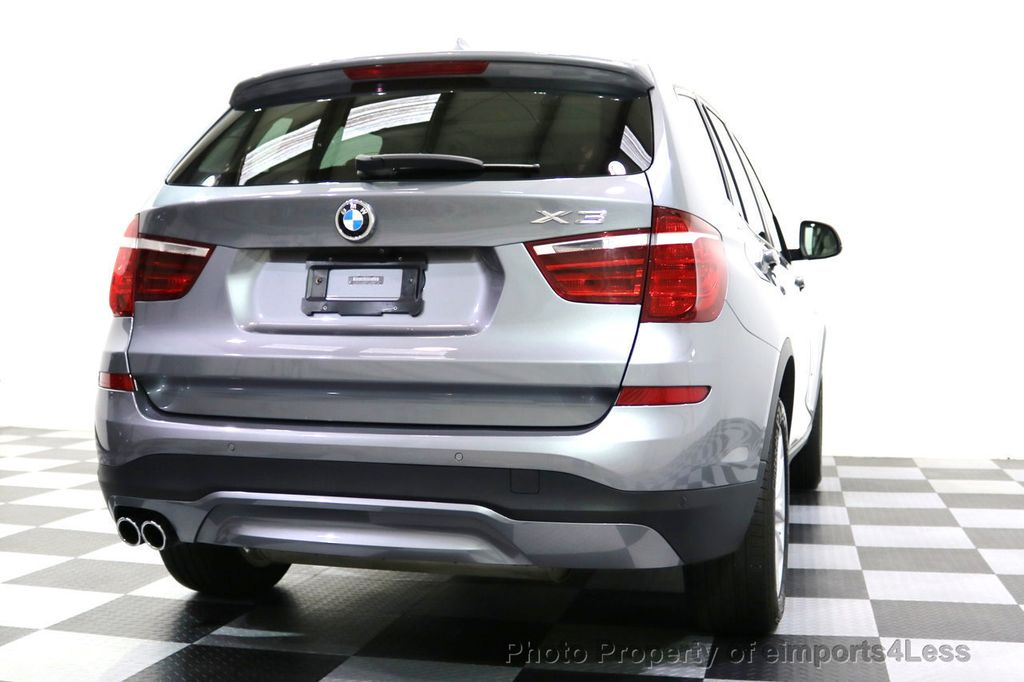 2015 BMW X3 CERTIFIED X3 xDRIVE28i AWD XENONS CAMERA NAVI - 17696949 - 48