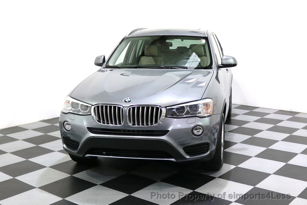 2015 BMW X3 CERTIFIED X3 xDRIVE28i AWD XENONS CAMERA NAVI - 17696949 - 53