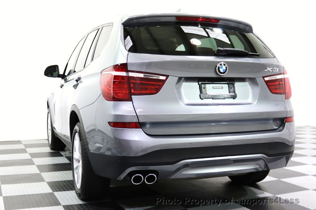 2015 BMW X3 CERTIFIED X3 xDRIVE28i AWD XENONS CAMERA NAVI - 17696949 - 54