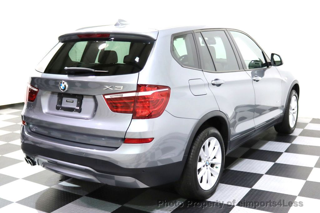 2015 BMW X3 CERTIFIED X3 xDRIVE28i AWD XENONS CAMERA NAVI - 17696949 - 55
