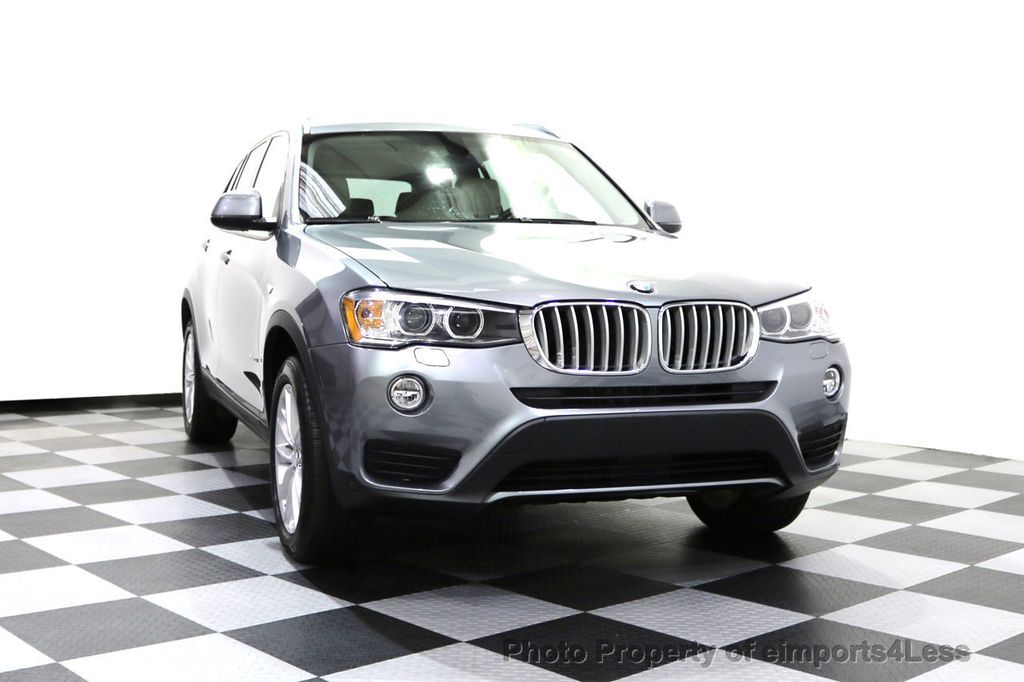 2015 BMW X3 CERTIFIED X3 xDRIVE28i AWD XENONS CAMERA NAVI - 17696949 - 56