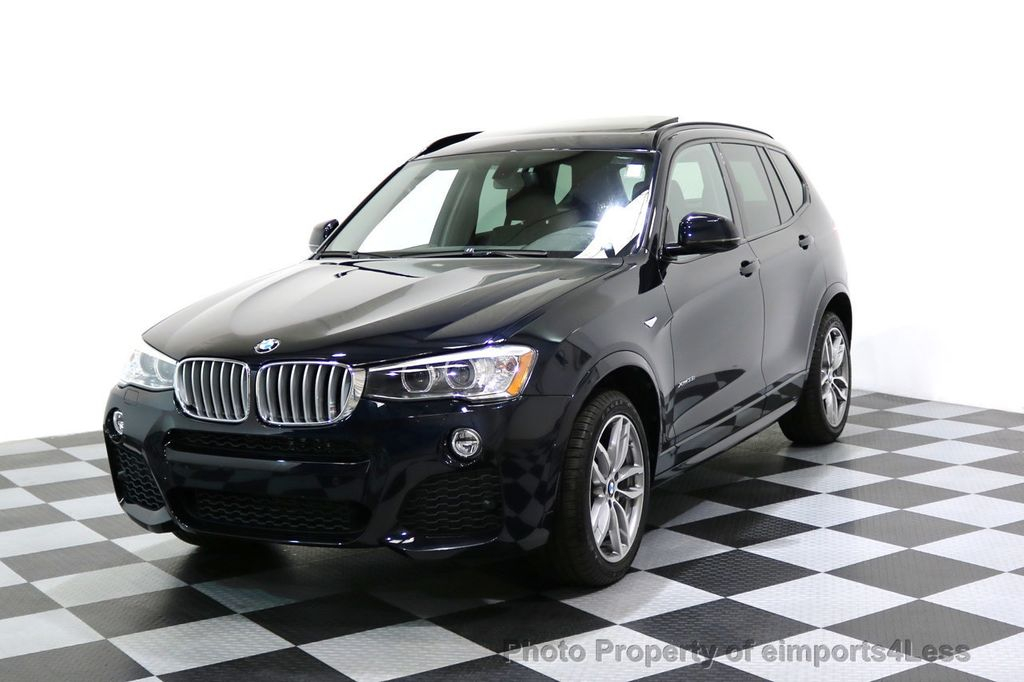 2015 BMW X3 CERTIFIED X3 xDRIVE35i M Sport AWD HK CAMERA NAVI - 17425277 - 0