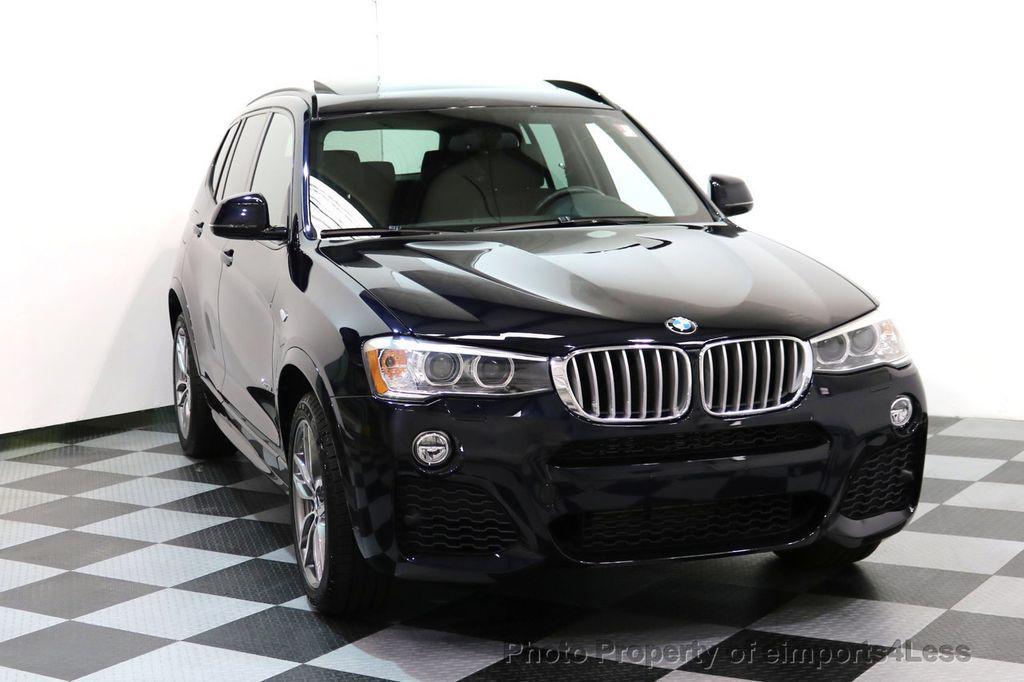 2015 BMW X3 CERTIFIED X3 xDRIVE35i M Sport AWD HK CAMERA NAVI - 17425277 - 30