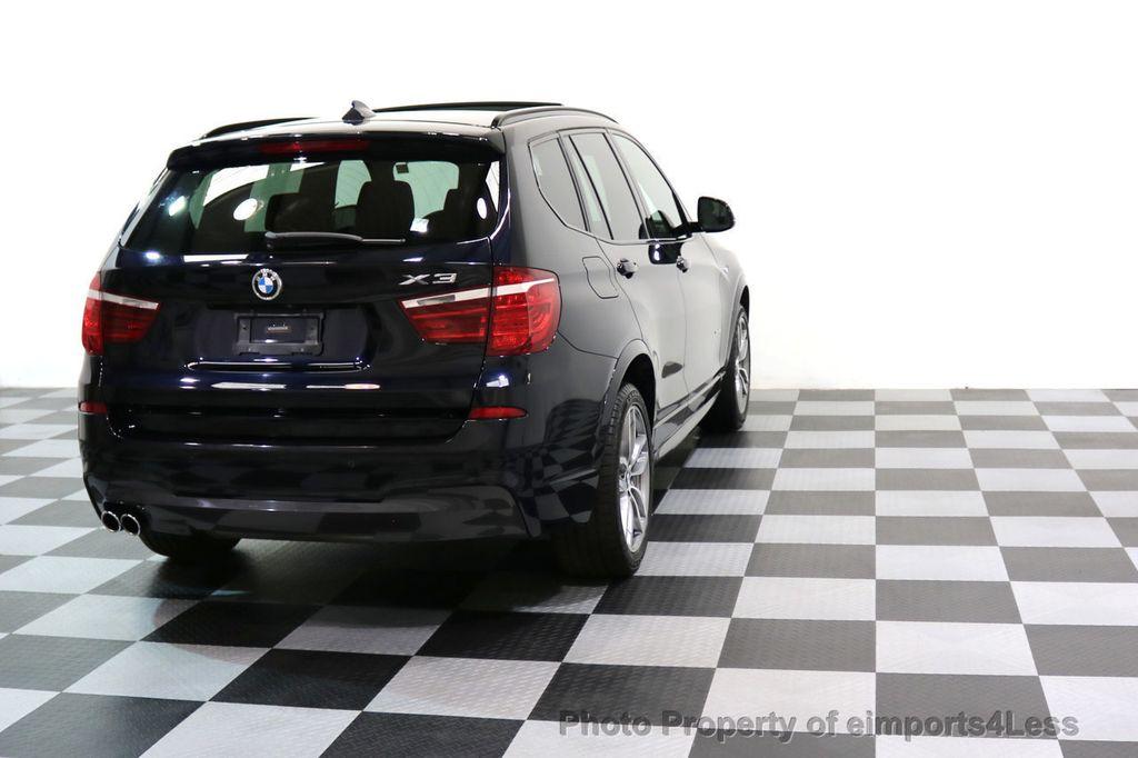 2015 BMW X3 CERTIFIED X3 xDRIVE35i M Sport AWD HK CAMERA NAVI - 17425277 - 33