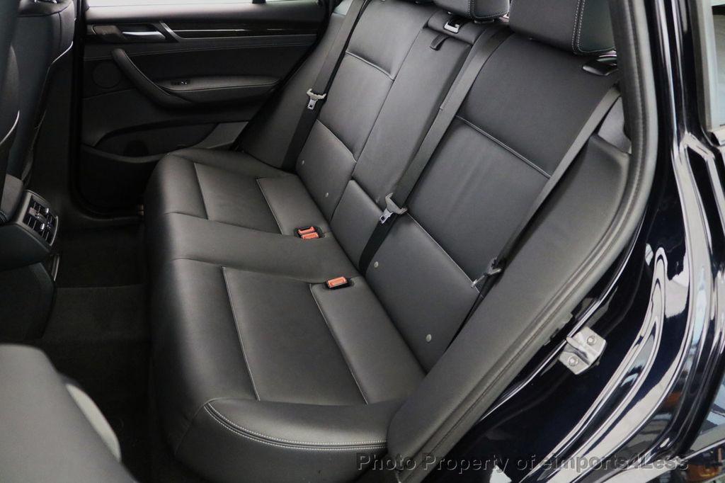 2015 BMW X3 CERTIFIED X3 xDRIVE35i M Sport AWD HK CAMERA NAVI - 17425277 - 48