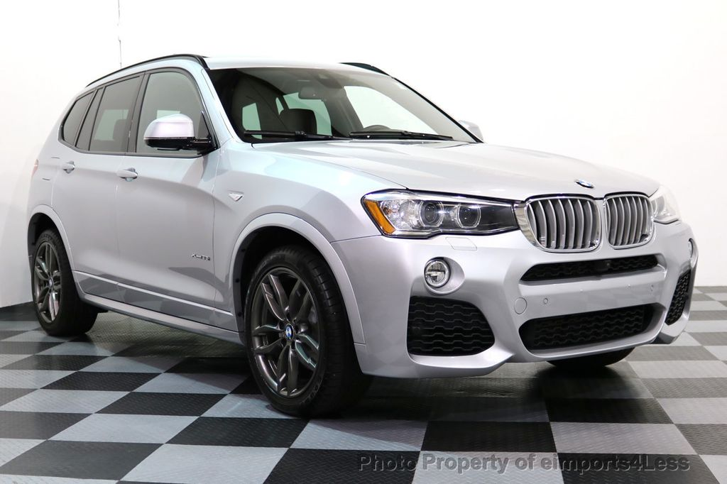 2015 BMW X3 CERTIFIED XDRIVE35i M Sport Package AWD NAVI