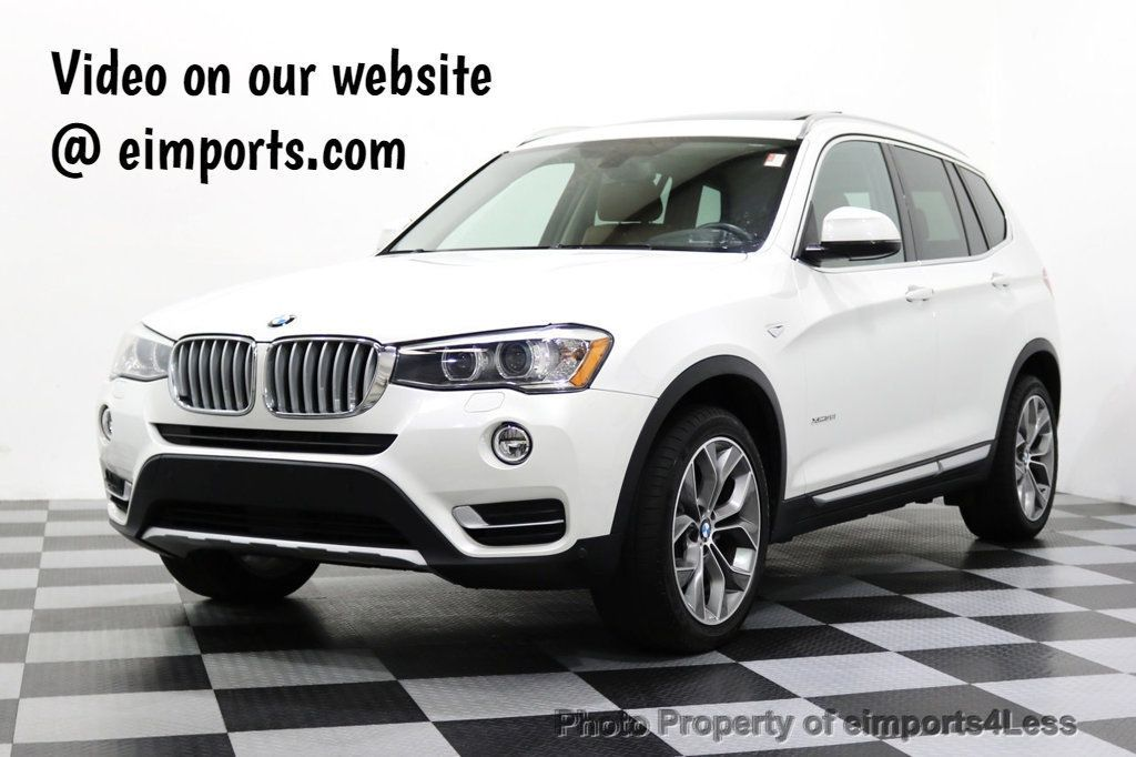 2015 BMW X3 CERTIFIED X3 xDRIVE35i XLINE TECH CAMERA NAVI - 17932969 - 0