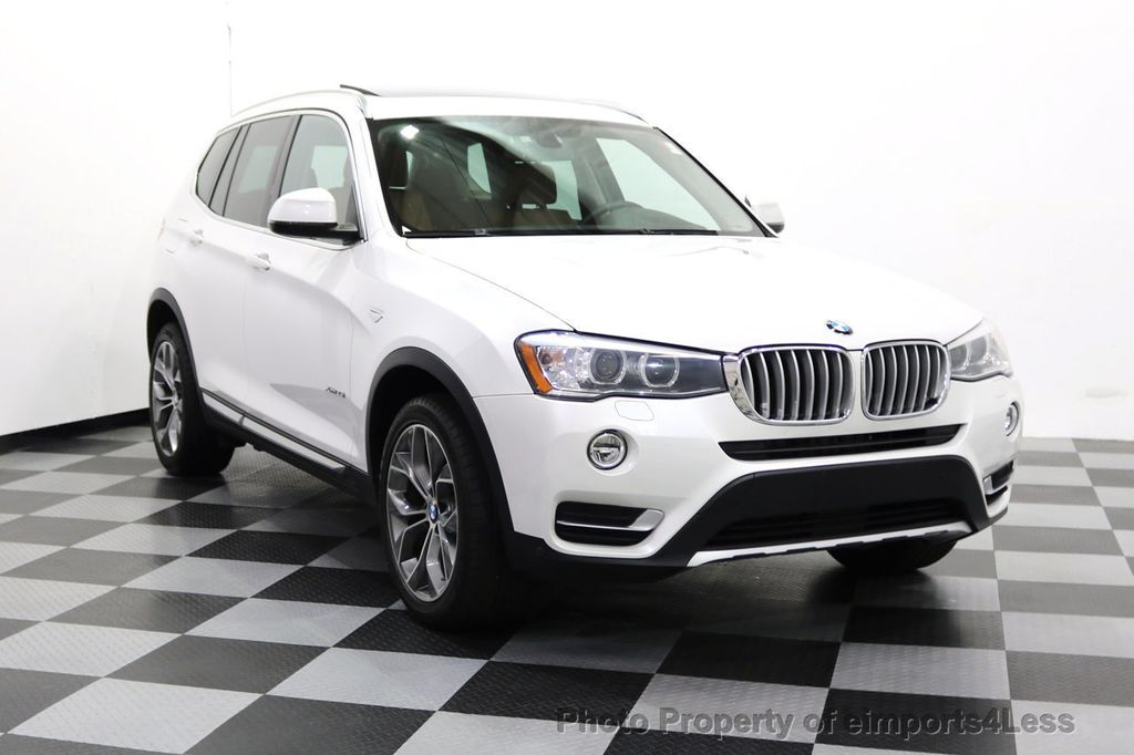 2015 BMW X3 CERTIFIED X3 xDRIVE35i XLINE TECH CAMERA NAVI - 17932969 - 1