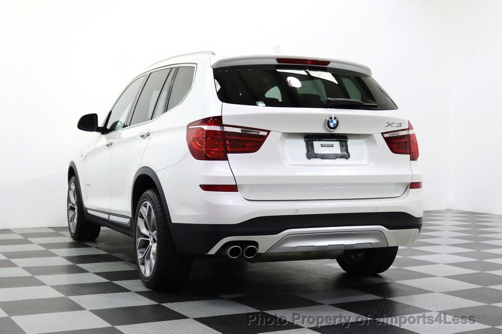 2015 BMW X3 CERTIFIED X3 xDRIVE35i XLINE TECH CAMERA NAVI - 17932969 - 30