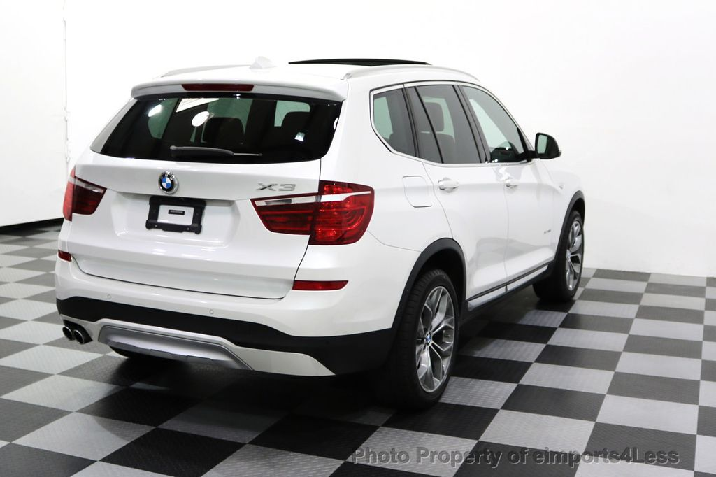 2015 BMW X3 CERTIFIED X3 xDRIVE35i XLINE TECH CAMERA NAVI - 17932969 - 46