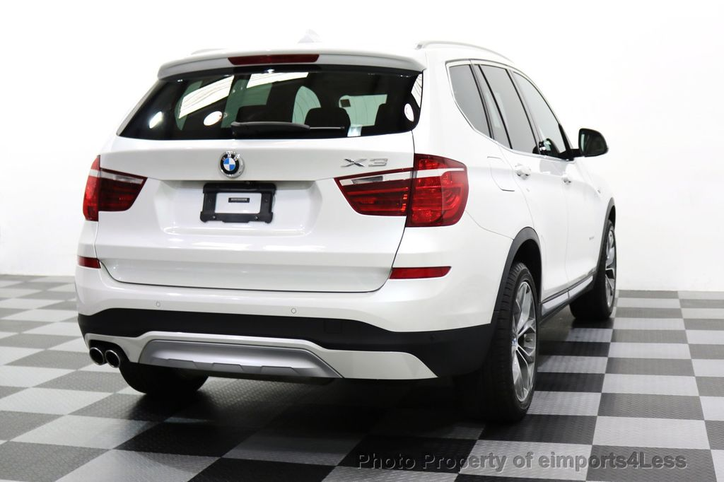 2015 BMW X3 CERTIFIED X3 xDRIVE35i XLINE TECH CAMERA NAVI - 17932969 - 54