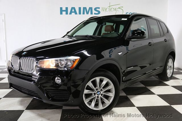 2015 Used Bmw X3 Sdrive28i At Haims Motors Serving Fort Lauderdale Hollywood Miami Fl Iid 18826646
