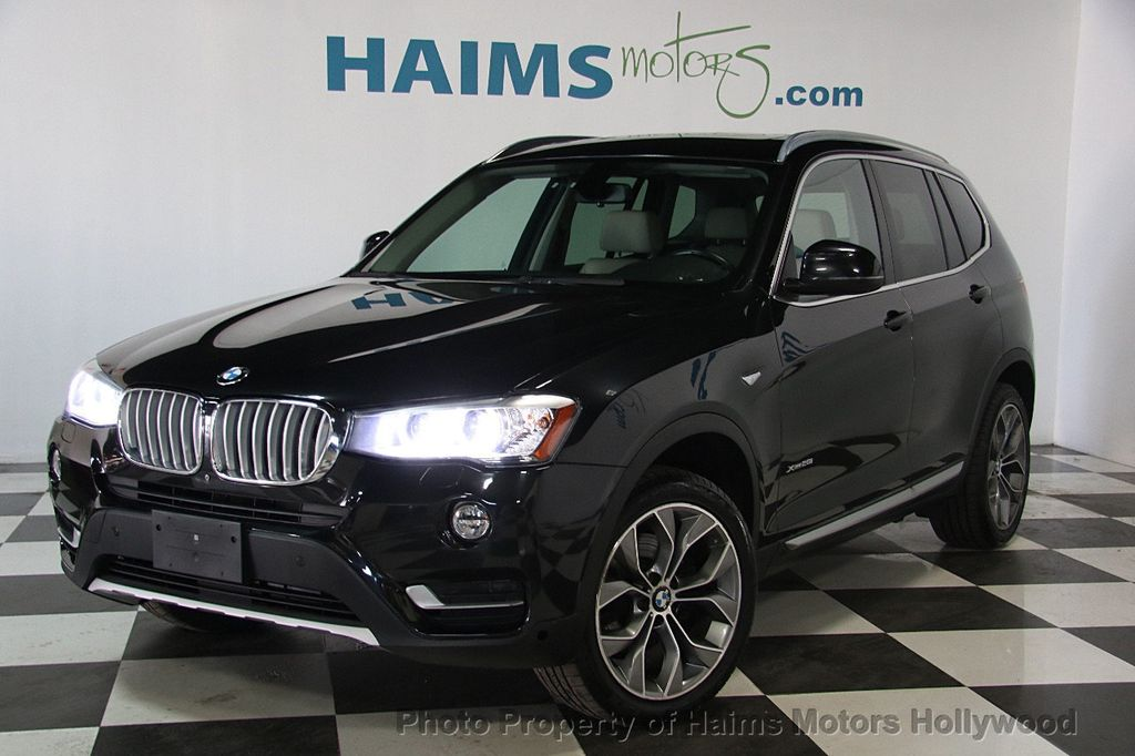 2015 Used Bmw X3 Xdrive28i At Haims Motors Serving Fort Lauderdale Hollywood Miami Fl Iid