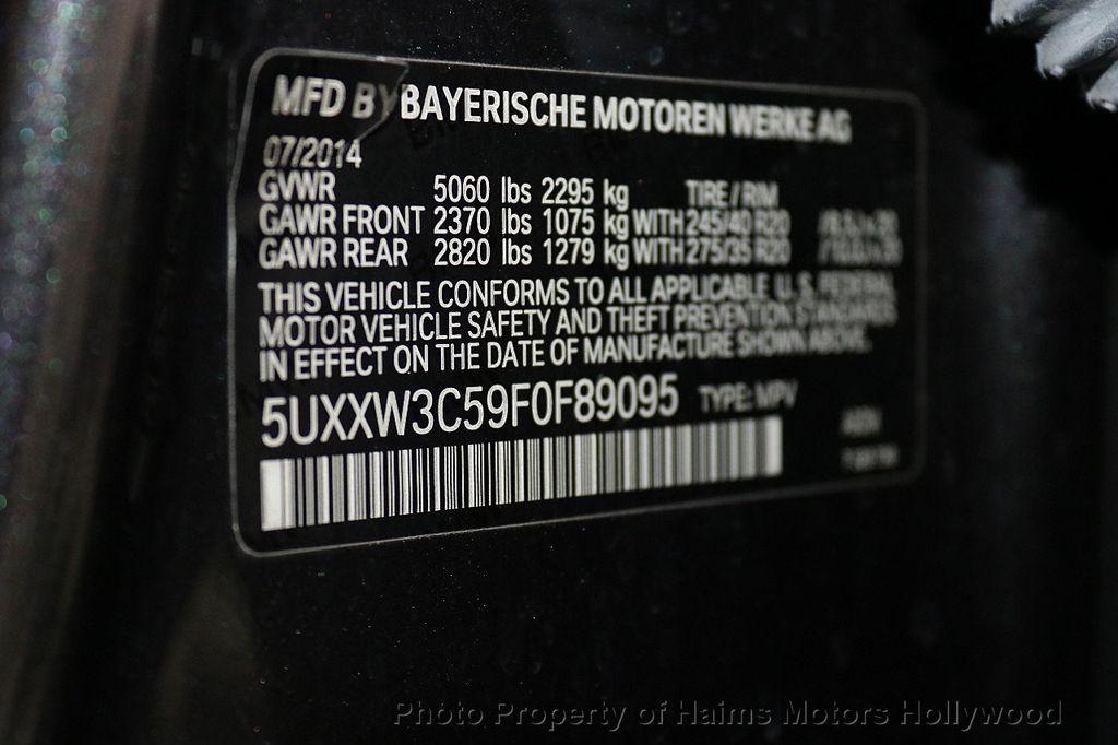 2015 BMW X4 xDrive28i - 17785333 - 42