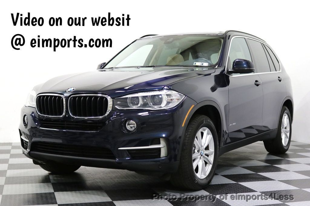 2015 BMW X5 CERTIFIED X5 xDRIVE35i AWD Blind Spot Assist NAVI - 17857619 - 0