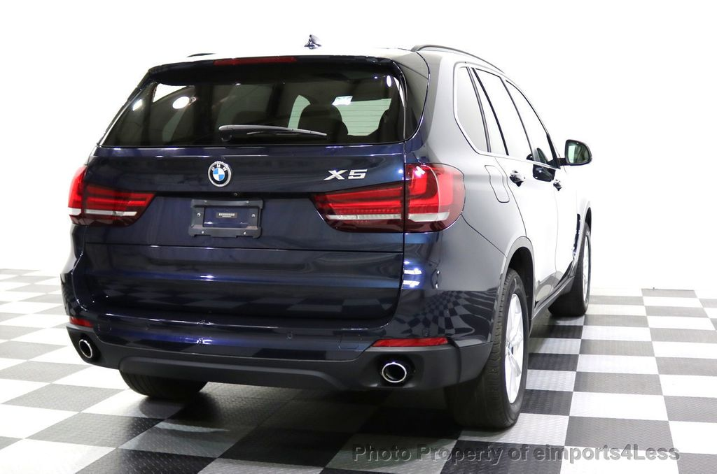 2015 BMW X5 CERTIFIED X5 xDRIVE35i AWD Blind Spot Assist NAVI - 17857619 - 19