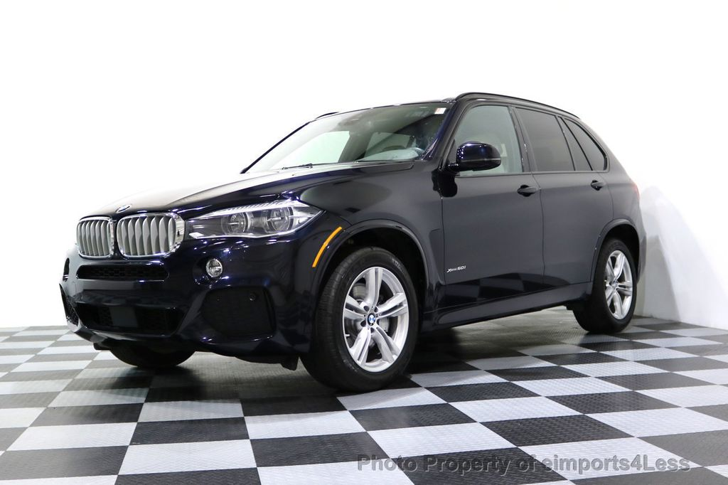 2015 BMW X5 CERTIFIED X5 xDRIVE50i AWD M SPORT Active Cruise 3RD ROW SEATING - 17395739 - 19