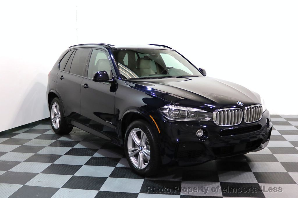 2015 BMW X5 CERTIFIED X5 xDRIVE50i AWD M SPORT Active Cruise 3RD ROW SEATING - 17395739 - 49