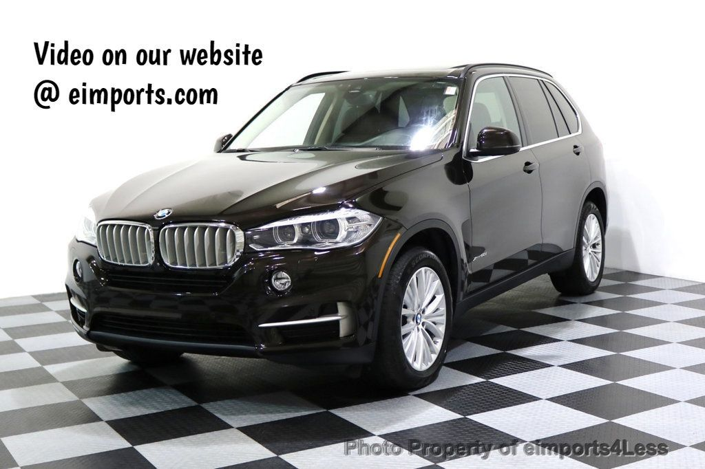 2015 BMW X5 CERTIFIED X5 xDRIVE50i V8 AWD Exec SELF PARKING NAVI - 17334096 - 0