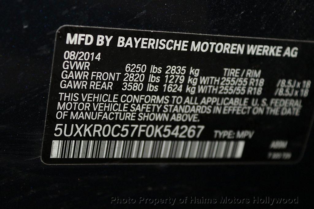 2015 BMW X5 xDrive35i - 17457673 - 37
