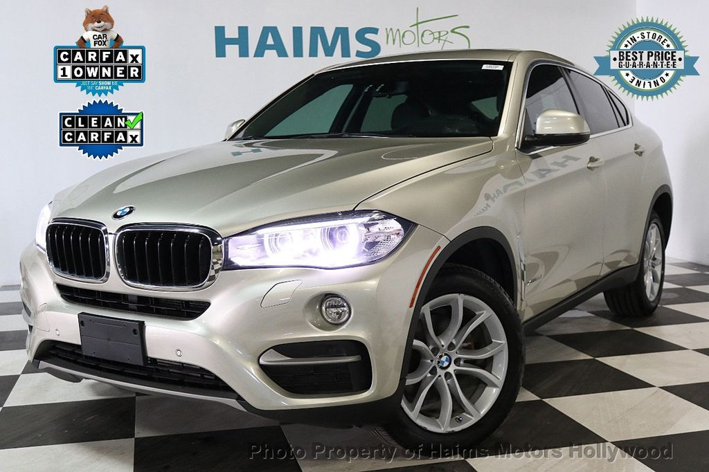 2015 Used Bmw X6 Xdrive35i At Haims Motors Ft Lauderdale