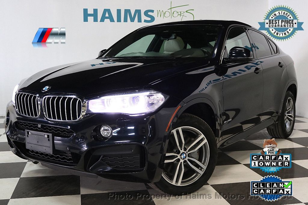 2015 Used Bmw X6 Xdrive50i At Haims Motors Ft Lauderdale Serving Lauderdale Lakes Fl Iid 17590355
