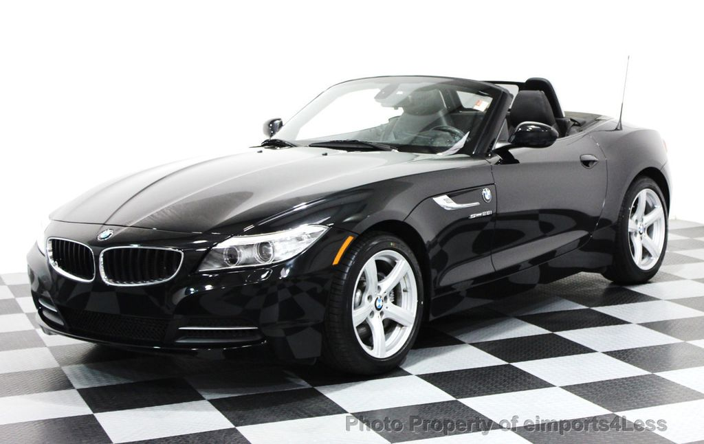 2015 Used Bmw Z4 Certified Z4 Sdrive28i Convertible Tech