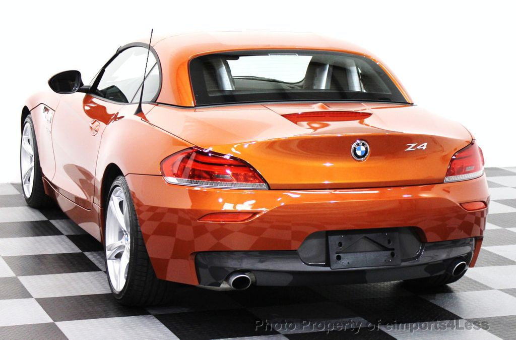 2015 Used Bmw Z4 Certified Z4 Sdrive35i Roadster Hyper