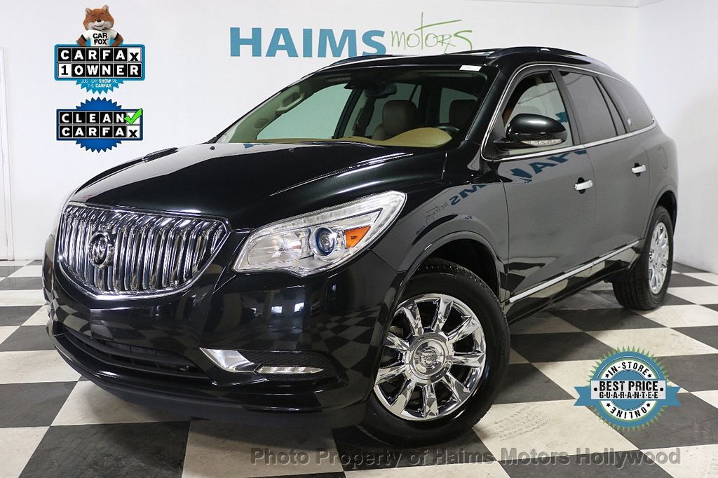 2015 Buick Enclave FWD 4dr Leather - 17875189 - 0
