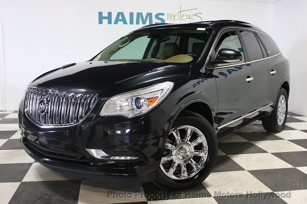 2015 Buick Enclave FWD 4dr Leather - 17875189 - 1