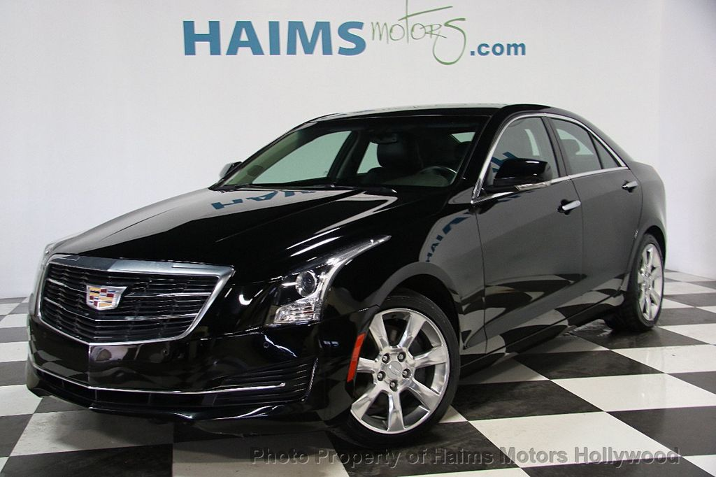 2015 Cadillac ATS Sedan 4dr Sedan 2.5L Luxury RWD - 16653461 - 0