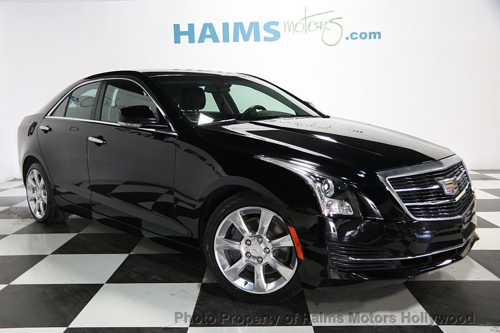 2015 Cadillac ATS Sedan 4dr Sedan 2.5L Luxury RWD - 16653461 - 2