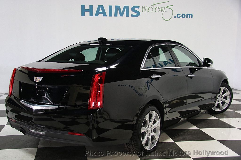 Cadillac Ats 4 >> 2015 Used Cadillac ATS Sedan 4dr Sedan 2.5L Luxury RWD at Haims Motors Ft Lauderdale Serving ...