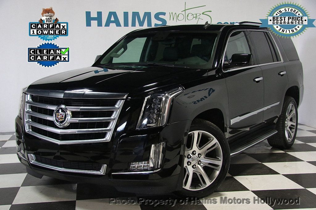 2015 Used Cadillac Escalade 2wd 4dr Luxury At Haims Motors Serving