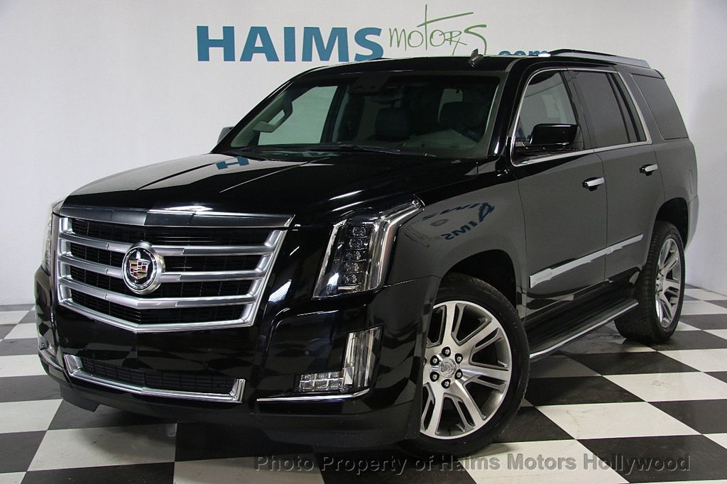 2015 used cadillac escalade 2wd 4dr luxury at haims motors. Black Bedroom Furniture Sets. Home Design Ideas