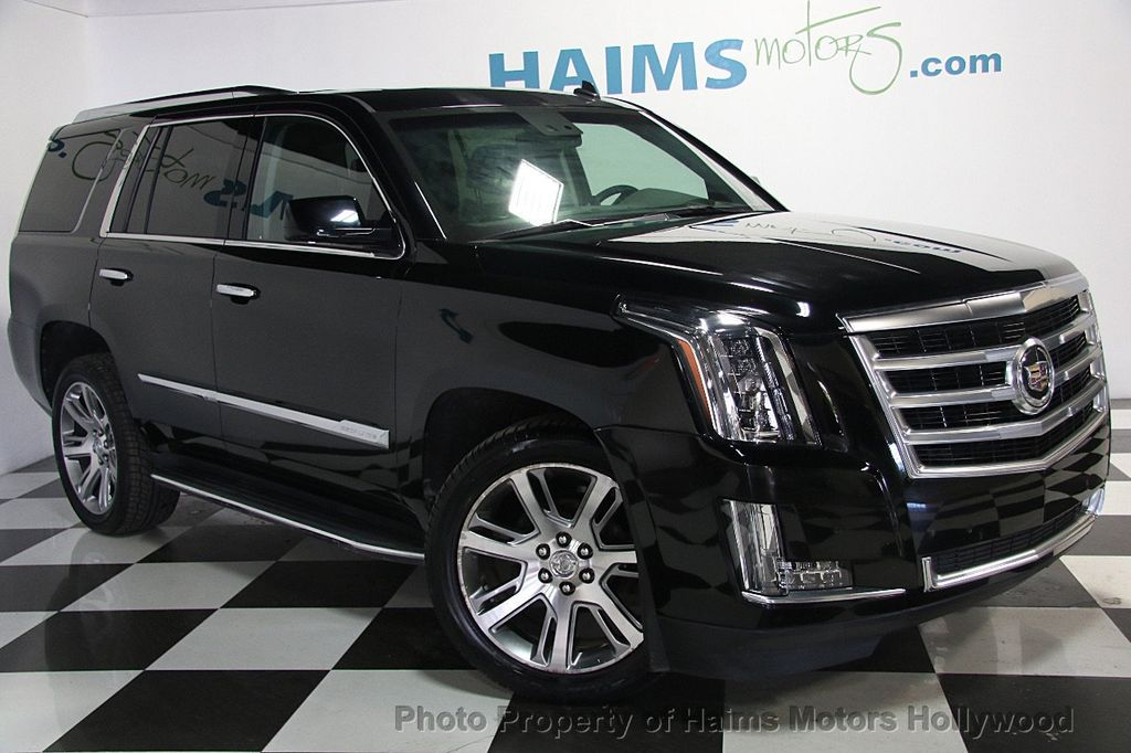 2015 cadillac escalade 2wd 4dr luxury suv for sale in hollywood fl 44 977 on. Black Bedroom Furniture Sets. Home Design Ideas