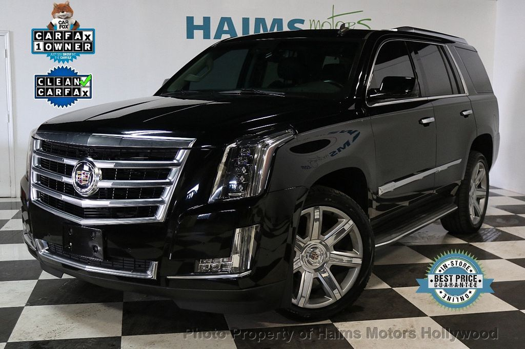 2015 Used Cadillac Escalade 2wd 4dr Luxury At Haims Motors Hollywood