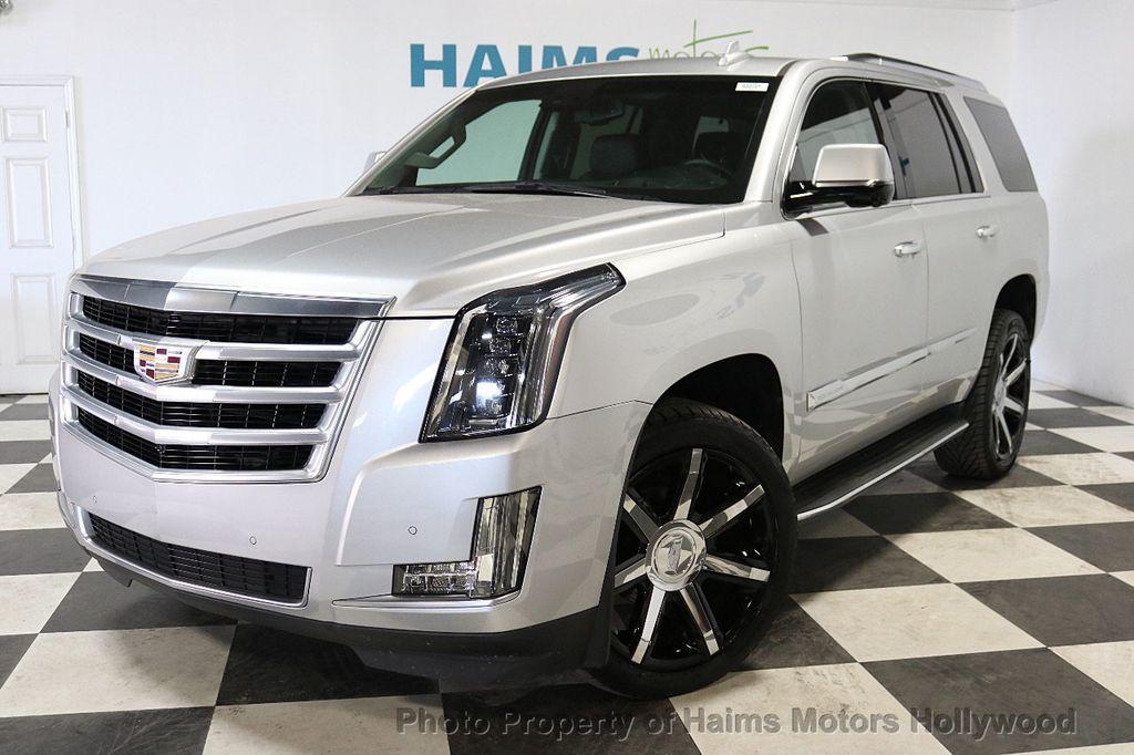 2015 Used Cadillac Escalade 2wd 4dr Luxury At Haims Motors