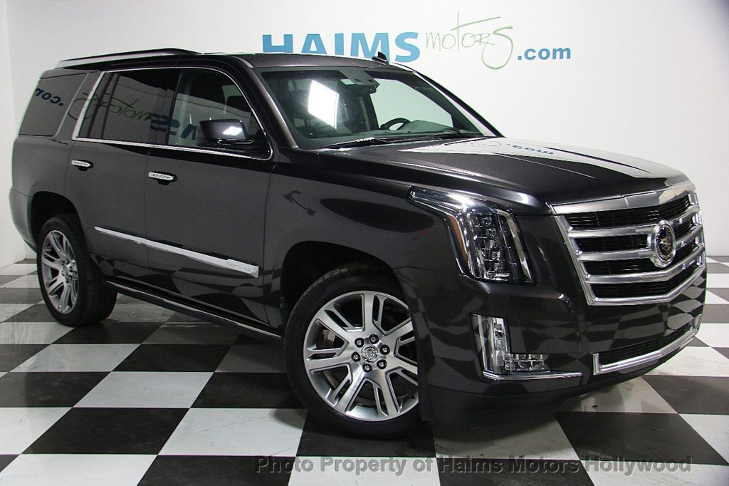 2015 used cadillac escalade 2wd 4dr premium at haims motors serving fort lauderdale hollywood. Black Bedroom Furniture Sets. Home Design Ideas