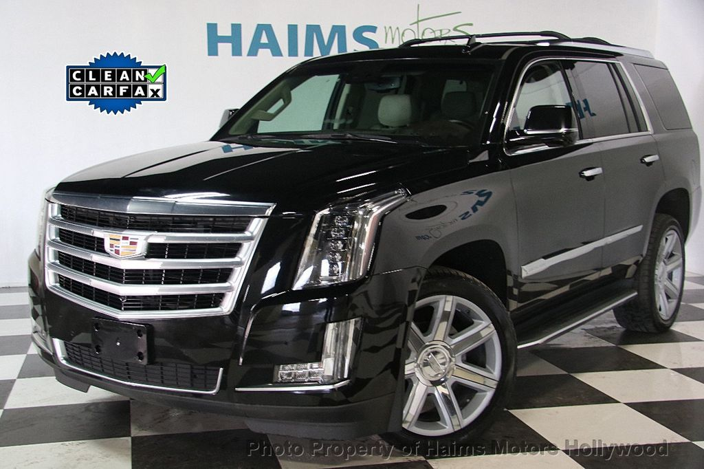 2015 used cadillac escalade 4wd 4dr luxury at haims motors serving fort lauderdale hollywood. Black Bedroom Furniture Sets. Home Design Ideas
